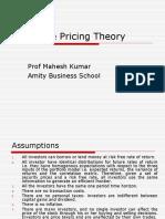 Arbitrage Pricing Model