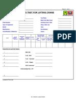 Form Test Load