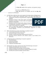 CBSE UGC NET Paper 1