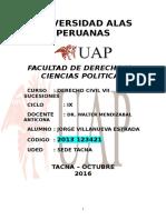 Derecho Civil Vii Sucesiones Jorge Villanueva