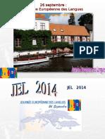 Journee Europeennes Des Langues