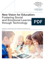 World Economic Forum - New Vision for Education