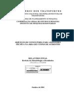 Custos de Acidentes Rodoviarios Relatorio Final