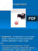 2) Suspension