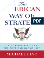 The American Way of Strategy - Michael Lind