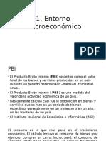 Entorno macroeconomico