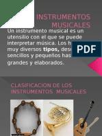 Presentación Los Instrumentos