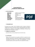 Plan Capacitacion Familia Primaria 2015