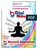 DigiNote 3rd January 9th January General Awareness