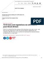 15 EU laws and regulations we will miss in post-Brexit - Andy McSmith from The Independent (June 2016).pdf