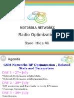 Radio Optimisation GSM