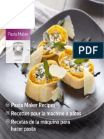 Recipe Book PastaMaker-Ar