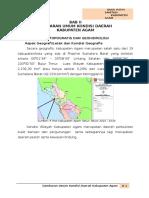 04 BAB II Gambaran Umum Kabupaten Agam.docx