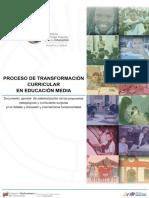 PROCESO DE TRANSFORMACIÓN�URRICULAR EN EDUCACIÓN  MEDIA_