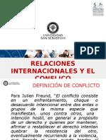 El Conflicto y Las Relaciones Internacionales