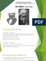 Aula Introdutória Marx