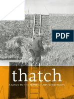 Thatch a Guide to the Repair of Thatched Roofs 2015