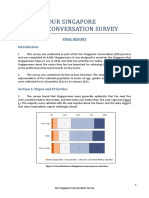 Full Report of Our sg Conversation Survey