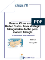 Russia, China and the United States