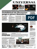 GradoCeroPress Primeras Planas Diarios Nacionales Viernes 14 Oct 2016