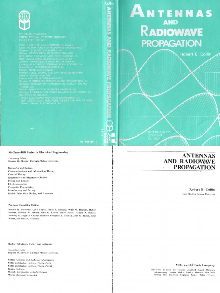 Antennas and radiowave propagation by collin fandeluxe Choice Image