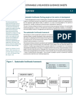 Dfid Sustainable Livelihoods Guidance Sheet Section1