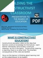 EDU5103 contructivist classroom