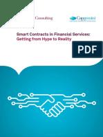 Capgemini Smart-contracts & Blockchain October 2016