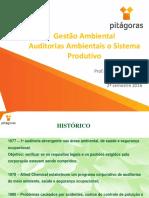 Aula 07 - Unidade 2 Encontro 3 - Auditorias Ambientais No Sistema Produtivo