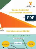 Aula 03- Licenciamento Ambiental