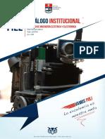 Catálogo de La Facultad de Ingeniería Eléctrica y Electrónica