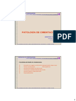 Patologia cimentaciones