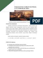 analisa swot pada tambang batubara maro