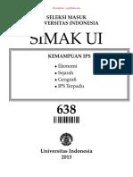 Simak Ui 638 - 2013 - Kemampuan Ips