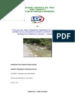 Trabjo de Hidrologia Terminado Delimitacion de una Cuenca Rio Shitare -Shupe - San Martin