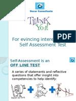 Self Assessment Ppt