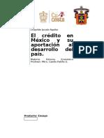 El crédito en Mexico, ensayo.docx