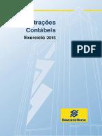 DFs Banco Do Brasil 2015