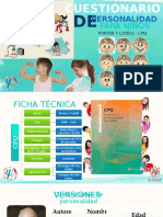 CPQ Cuestionario de personalidad para niños
