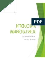 Introduccion a Manufactura Esbelta