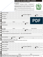 Ministry of Interior Arms License Application Form Fillable
