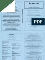 Echanges N°151 – Printemps 2015