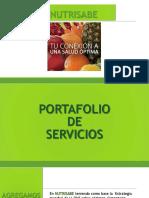 Portafolio de Servicios Nutrisabe