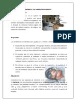 asistencia ventilacion mecanica
