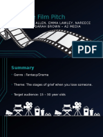 My Film Pitch