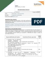 DdC Asesor Comercial
