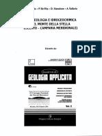 1995 - Idrogeologia e Idrogeochimica Del Monte Della Stella (Cilento - Campania Meridionale)