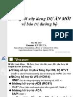 Hướng tới xây dựng dự án mới về bảo trì Đường bộ cho Việt Nam