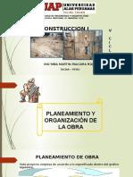 Semana 3 Planeamiento y Organizacion de La Obra