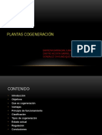 Plantas de Cogeneración